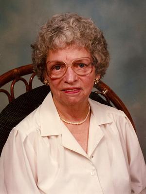 Gretchen Garnnett in 1995