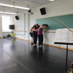 Members of the dance company.
