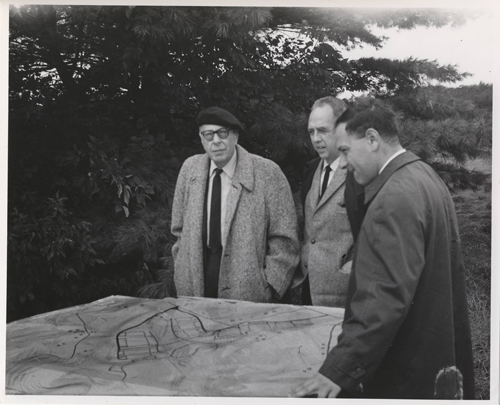 Szell and site plans
