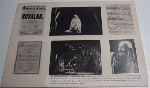 The opera Rusalka