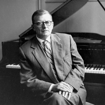 Shostakovich-at-Piano