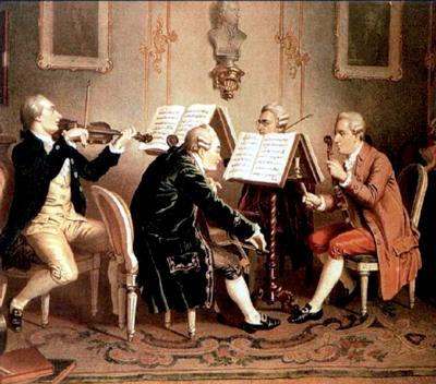 Henze-18th-c-String-Quartet