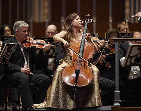 Dvořák's Eighth Symphony The Cleveland Orchestra Alan Gilbert, conductor Alisa Weilerstein, cello DVOŘÁK - The Watersprite BARBER - Cello Concerto DVOŘÁK - Symphony No. 8 Photo by Roger Mastroianni