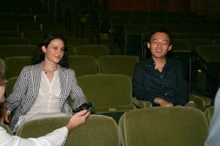 Finalists Martina Filjak and William Youn - Photo Sam Hubish