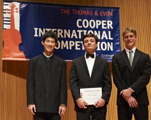 Oberlin Cooper Competition Finalists