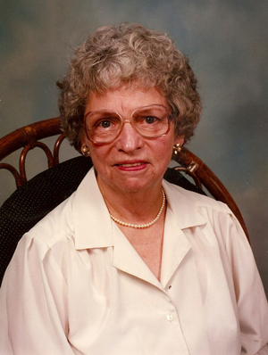 Gretchen Garnnett in 1995