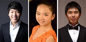 L-R: Sae Yoon Chon, Zitong Wang, Tony Yike Yang