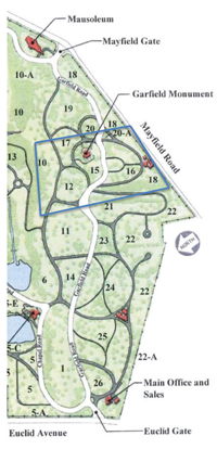 Lakeview-Cemetery-map
