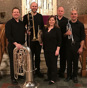 Dana Brass Quintet 2018