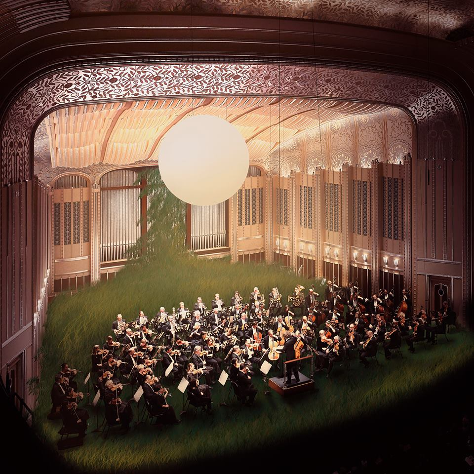 Daphne Stage rendering courtesy of The Cleveland Orchestra