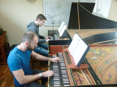 2-Harpsichords