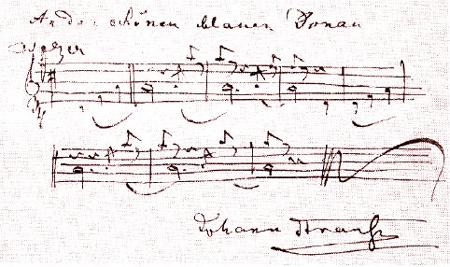 STRAUSS-Autograph