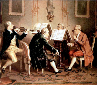 Henze-18th-c-String-Quartet