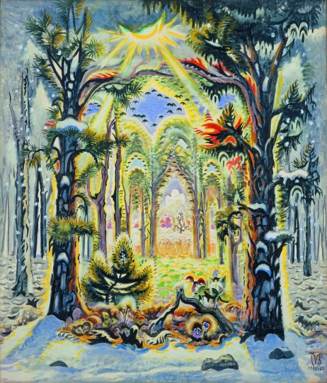 Burchfield Four Seasons