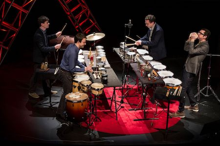 Third Coast Percussion Credit Barbara Johnson_University Photographer_Copyright University of Notre Dame_preview