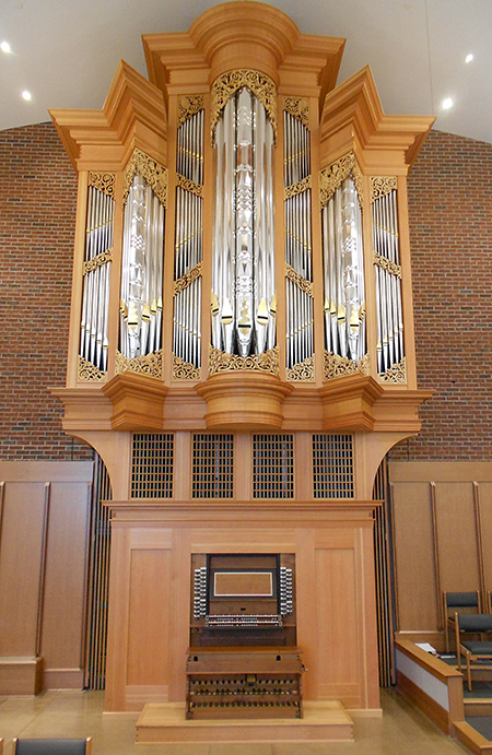 New organ for First Lutheran Lorain continues Boe